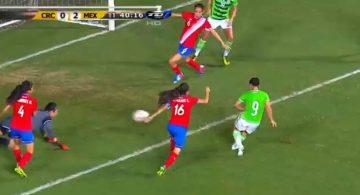 Charlyn marca con México, pero no puede evitar la derrota (3-2)