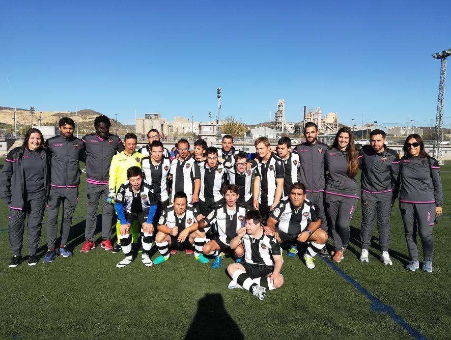 El fútbol inclusivo, protagonista en Buñol