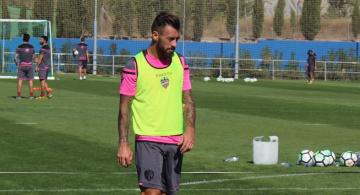 Luna, recuperado, podrá jugar contra el Atlético de Madrid