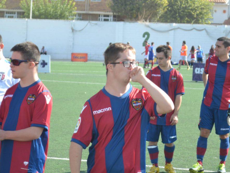 Levante UD EDI disputa el I Torneo Inclusivo Eurosanex