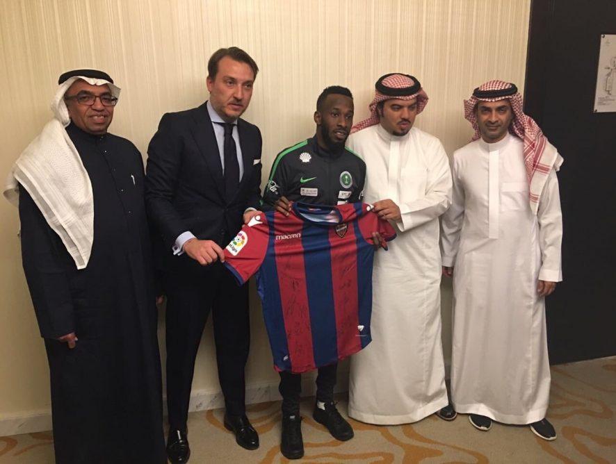 Fahad Al Muwallad, nuevo jugador del Levante