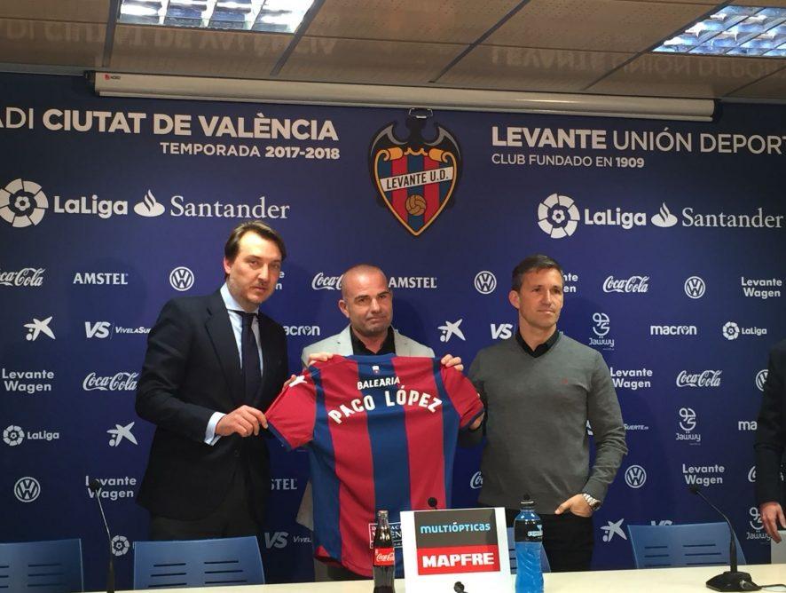 """Tito: """"Mi futuro está ligado al Levante, no a ningún entrenador"""""""