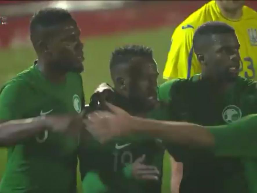 Fahad es reivindica davant Ucraïna amb gol inclòs (1-1)