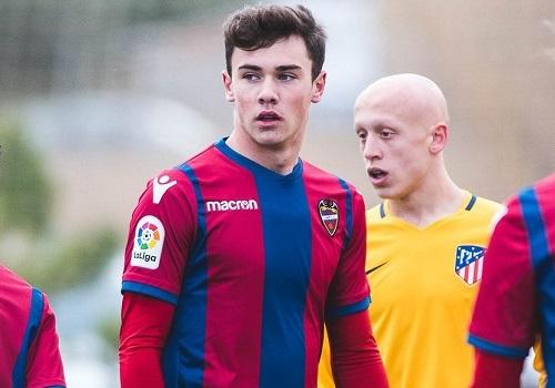 Eusebio Monzó, central del Juvenil A, convocado por España sub18