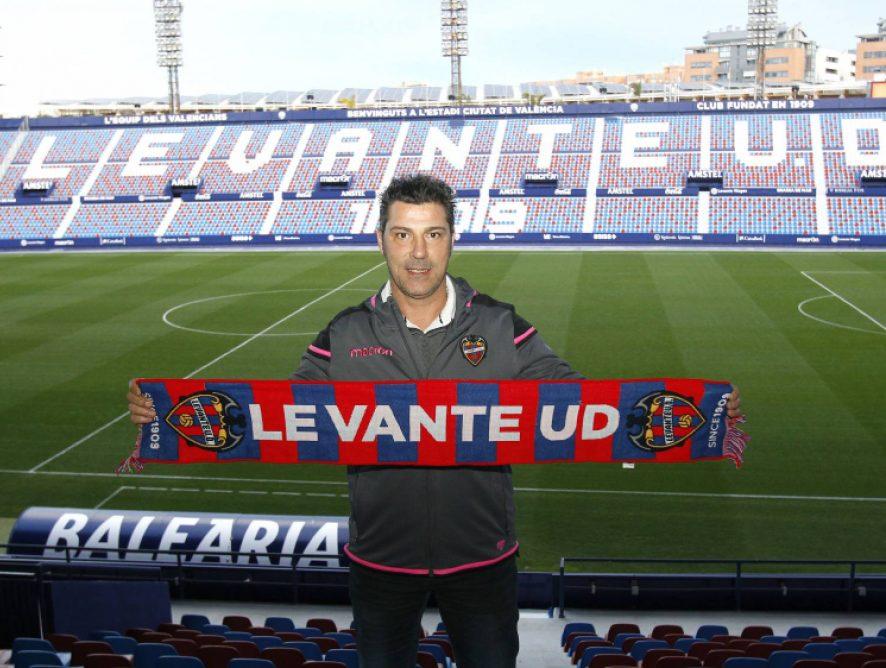 El exmallorquinista Olaizola, nuevo técnico del Atlético Levante