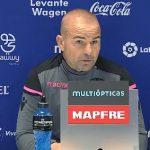 Paco López: «La idea de competir y ser atrevidos va a ser la misma fuera que en casa»