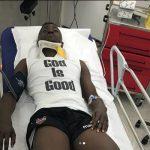 Boateng, ya operado, estará un mes de baja