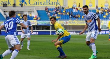 Las Palmas dimite de la lucha por la permanencia (0-1)