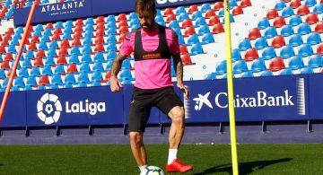 "Luna: ""No tengo ninguna molestia, espero estar contra el Málaga"""