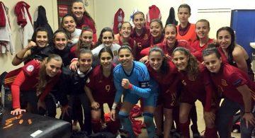 España sub19 obtiene el billete para Suiza con Noelia como titular (3-0)