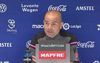"""Paco López: """"Me gustaría seguir contando con Cabaco, Róber, Lukic y Coke"""""""