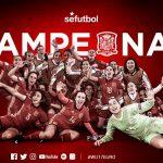 Paula Tomás se proclama campeona de Europa con la Sub-17