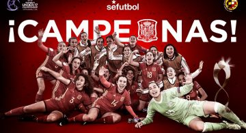 Paula Tomás es proclama campiona d'Europa amb la Sub-17
