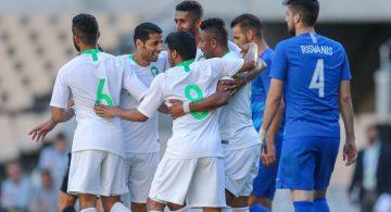 Fahad participa 20' en el triunfo de Arabia Saudí sobre Grecia (2-0)