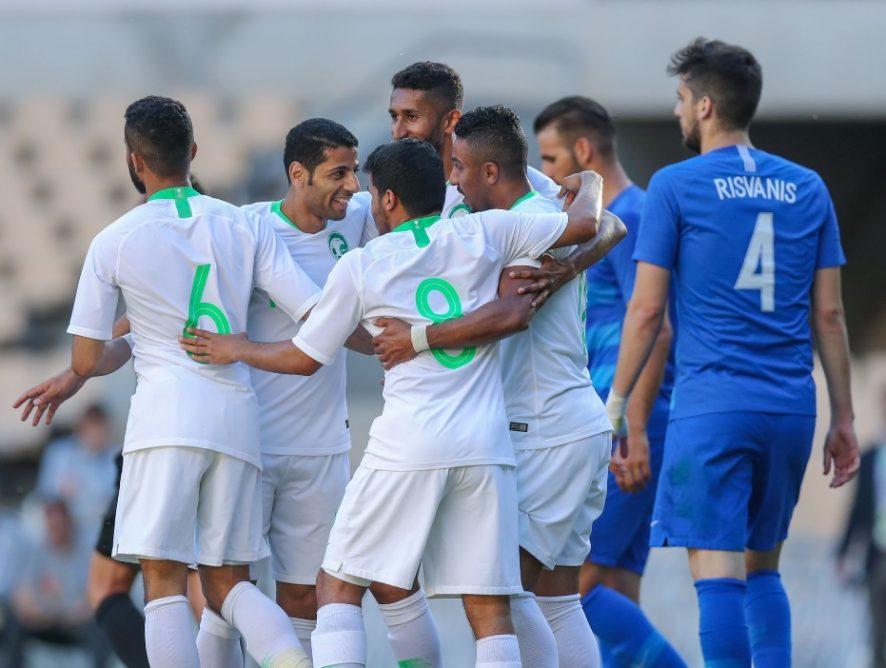 Fahad participa 20' en el triomf d'Aràbia Saudita sobre Grècia (2-0)