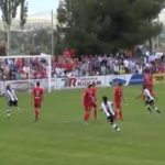 Así fueron los goles de Juan Delgado y Álex Cortell en Calahorra