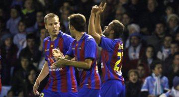 Roger, Balaídos y su estreno goleador en Primera División