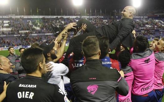 El Levante, campeón de la Liga de López