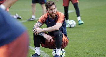 Messi se queda en Barcelona y no jugará mañana en el Templo