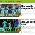 """¡No Leo puedo creer!"", la premsa internacional alucina amb la gesta del Llevant"
