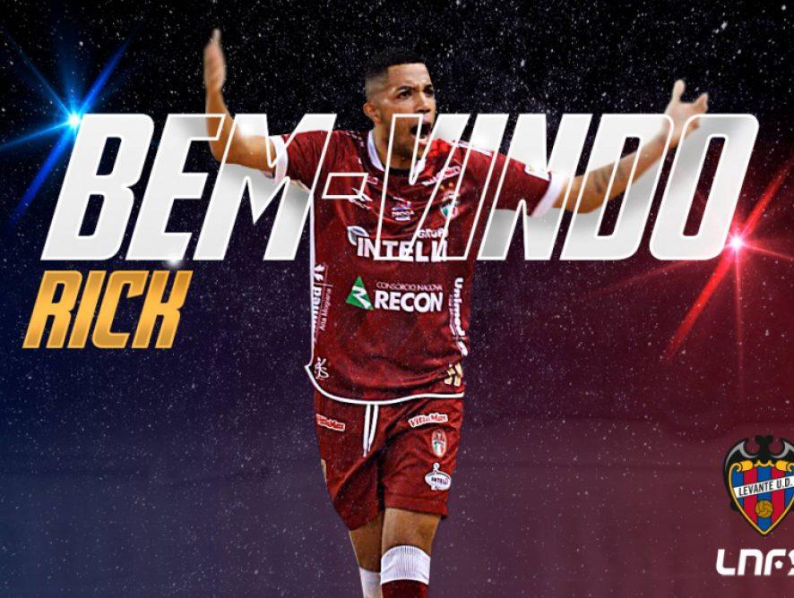 El brasileño Rick, segundo fichaje del Levante UD FS 2018-19