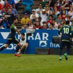 Un gol de Rubén García no és prou per a mantenir en ascens directe al Sporting (2-1)