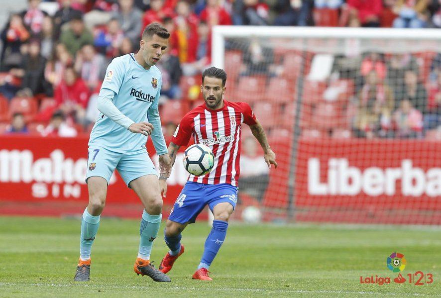 Rubén García vuelve a marcar, pero el Sporting vuelve a perder (2-3)